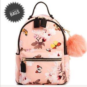 Handbags - Cute Mini Chic Pom Pom Backpack